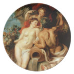 The Union of Earth and Water Peter Paul Rubens Dinner Plates