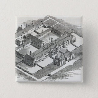 The Union Workhouse to be erected at Pinback Button