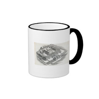 The Union Workhouse to be erected at Ringer Coffee Mug