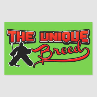 The Unique Breed, Hockey Goalie Stickers