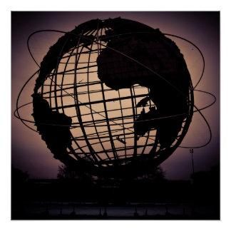 The Unisphere Poster