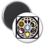 The Unitarian Universalist Church Rockford, IL 2 Inch Round Magnet