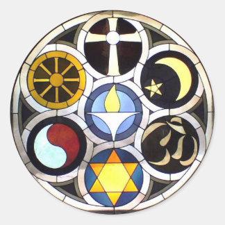 The Unitarian Universalist Church Rockford, IL Classic Round Sticker