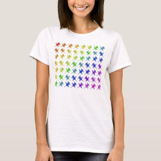 The United Colors of Disc Golf T-Shirt