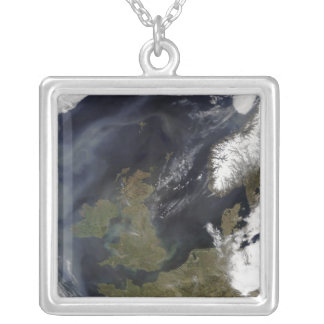The United Kingdom and the Republic of Ireland Square Pendant Necklace