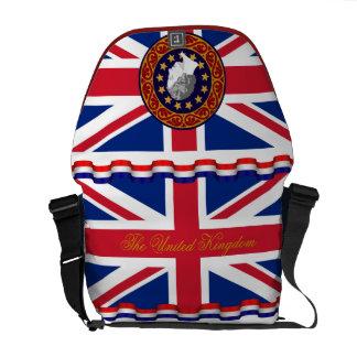 The United Kingdom Queen Monogram Messenger Bag