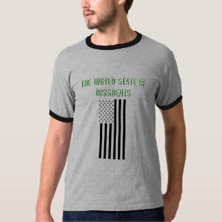 THE UNITED STATE OF DISSIDENTS, PT.2 FLAG T-Shirt