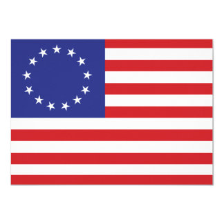 The United States 13-Star Flag Card