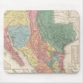The United States and Mexico Mouse Pad
