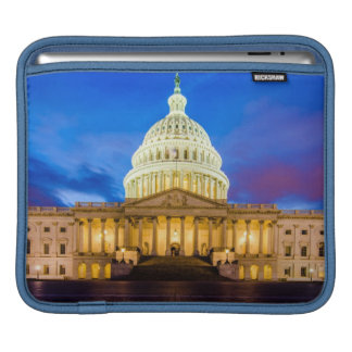 The United States Capitol at blue hour iPad Sleeves