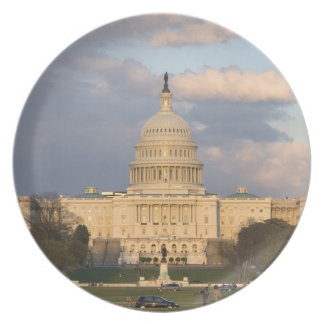 The United States Capitol Building in Melamine Plate