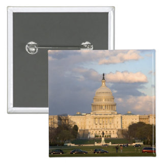 The United States Capitol Building in Pinback Button