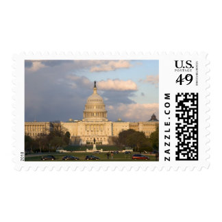 The United States Capitol Building in Postage