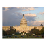 The United States Capitol Building in Postcard