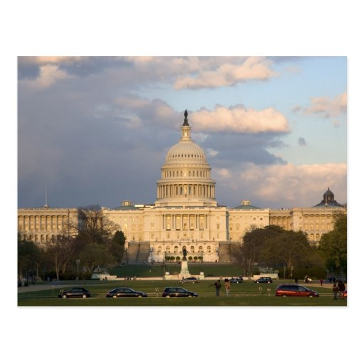The United States Capitol Building in Post Cards