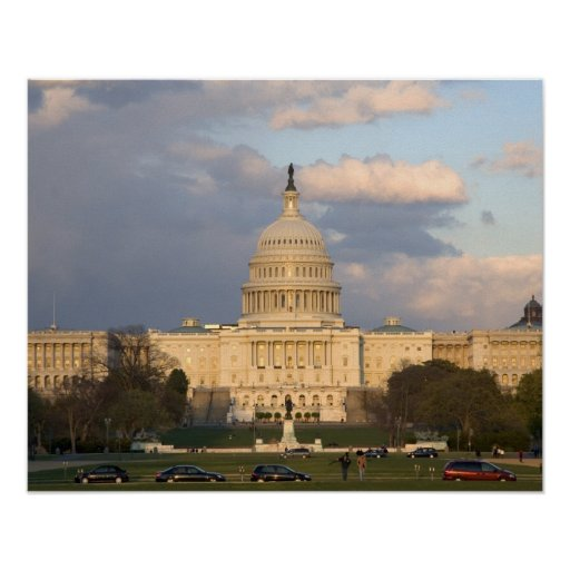 The United States Capitol Building in Posters