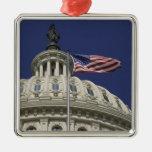 The United States Capitol, Washington, DC Christmas Ornament