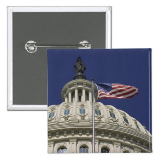 The United States Capitol, Washington, DC Pinback Button