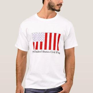 The United States Civil Flag T-Shirt