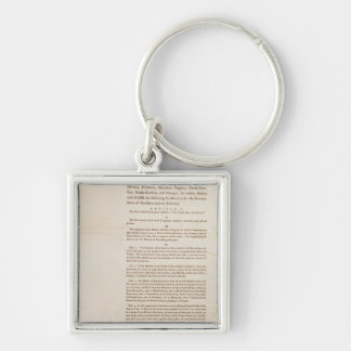 The United States Constitution, 1787 Keychain