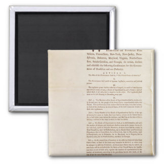 The United States Constitution, 1787 Magnet