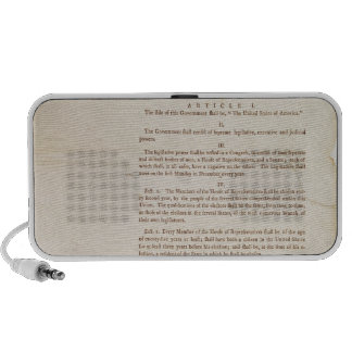 The United States Constitution, 1787 Travel Speaker