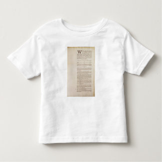 The United States Constitution, 1787 Toddler T-shirt