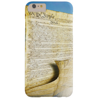 The United States Constitution Above the Earth Barely There iPhone 6 Plus Case