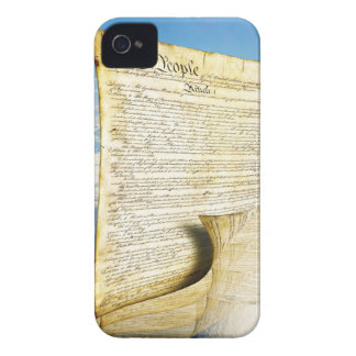The United States Constitution Above the Earth iPhone 4 Cases