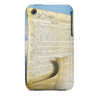 The United States Constitution Above the Earth iPhone 3 Case-Mate Cases