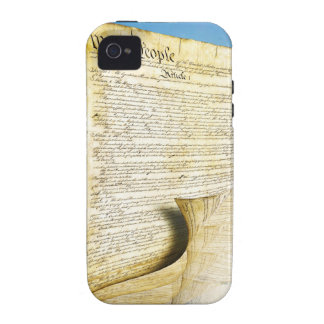 The United States Constitution Above the Earth iPhone 4 Covers
