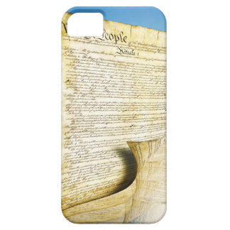 The United States Constitution Above the Earth iPhone SE/5/5s Case