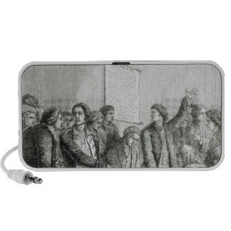 The United States Declaration of Independence iPod Speakers