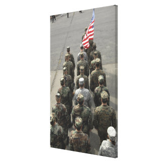The United States delegation Canvas Print