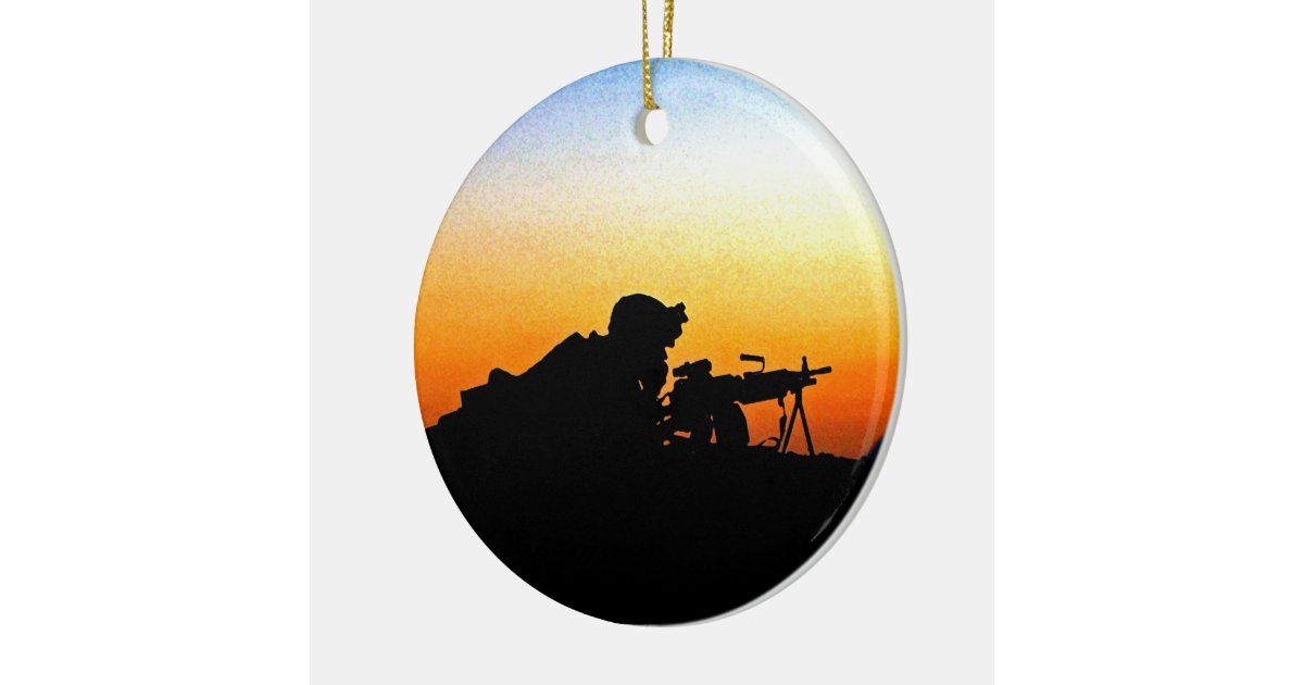 The United States Marine Corps' Hymn Ceramic Ornament | Zazzle