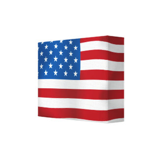 The United States of America Gallery Wrap Canvas