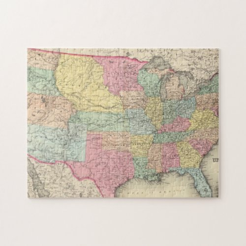 The United States Of America Jigsaw Puzzle