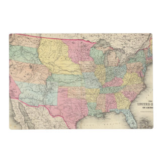 The United States Of America Laminated Place Mat