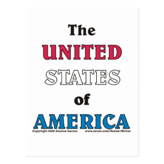 the United States of America Postcard