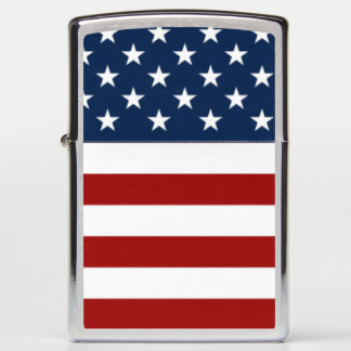 The United States of America stars & stripes flag Zippo Lighter