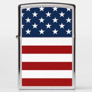 The United States of America stars & stripes flag Zippo Lighter