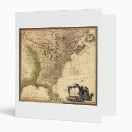 The United States of North America Map (1784) Binder