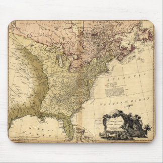 The United States of North America Map (1784) Mouse Pad
