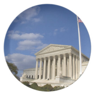 The United States Supreme Court Building in Dinner Plate