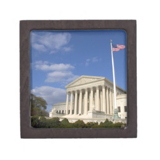 The United States Supreme Court Building in Gift Box