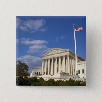 The United States Supreme Court Building in Pinback Button