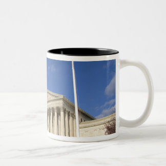 The United States Supreme Court Building in Two-Tone Coffee Mug