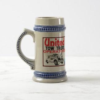 The United Tow Truck Operators Stein Mug