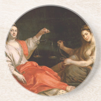 The Unity and Justice by Theodoor van Thulden Drink Coaster