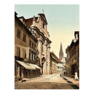The Univerdity, Freiburg, Baden, Germany rare Phot Postcard